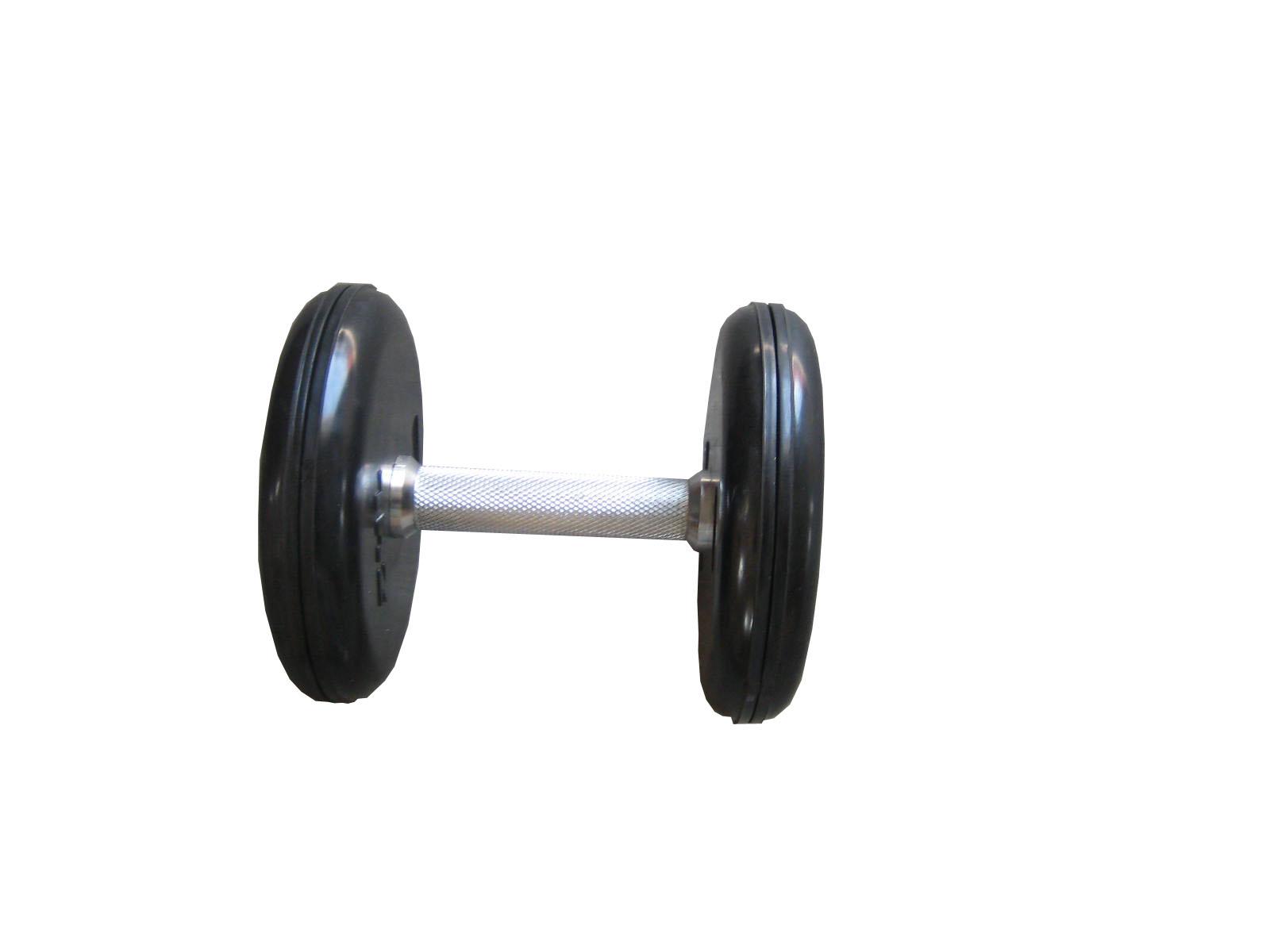 Činky jednoruční pogumované 10kg Jednoručky pogumované 10kg