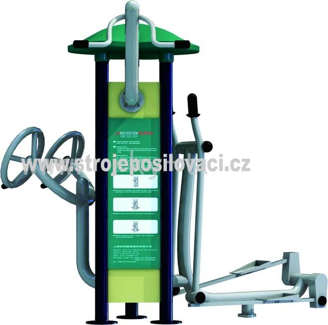 Posilovaci stroj pro venkovní fitness MDS_02AK Venkovní posilovací stroj
