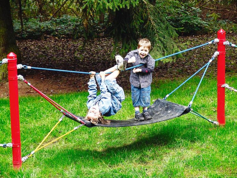 Dětská lanová houpací síť