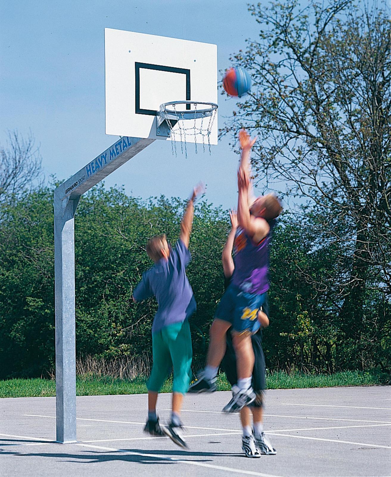 Basketbalový koš - venkovní konstrukce Koš na basketbal