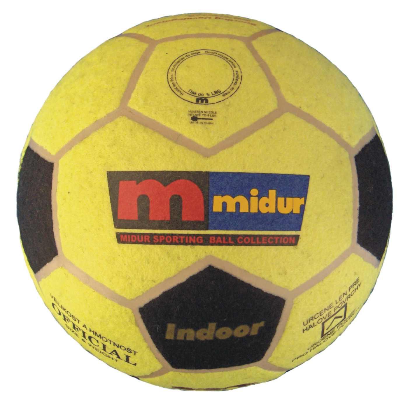 Míč na halový fotbal vel.5 INDOOR BALL vel.5