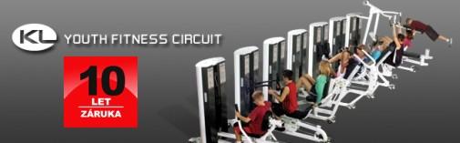 Fitness pro mládež Serie KL Posilovácí stroje pro mládež a děti