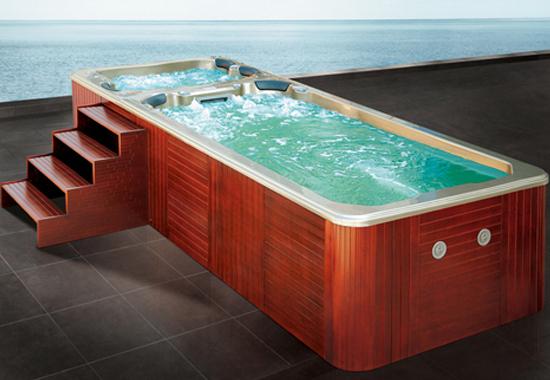Velký plavecký vířivý bazén MDB820 Velký hydromasažní plavecký bazén