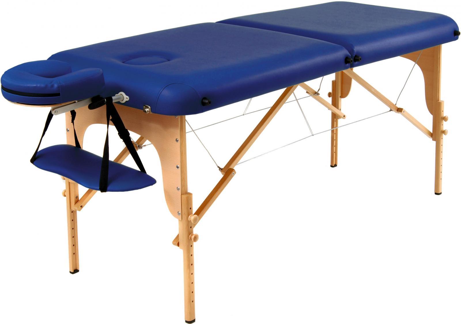 Masažní lavice polohovatelná 186x71x59-86cm Masažní lavice 186x71x59-86cm