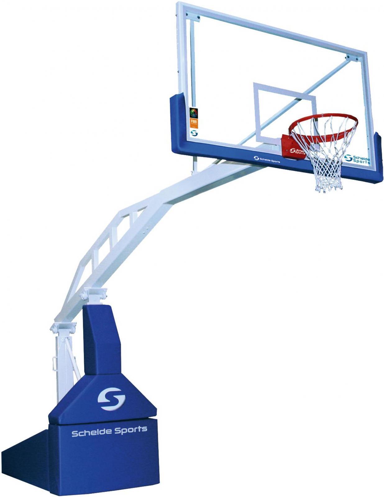 Basketbalový koš - soutěžní konstrukce 245cm Koš na basketbal FIBA