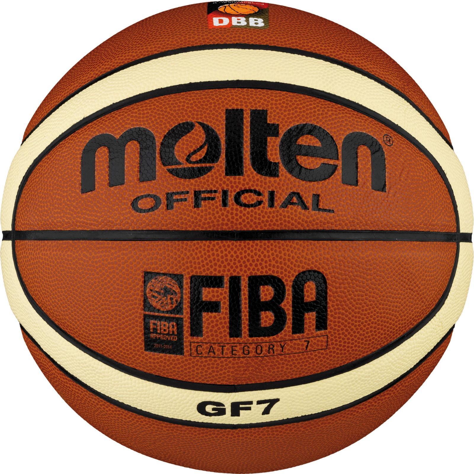 Basketbalový míč vel. 7 Míč na basketbal Molten vel. 7
