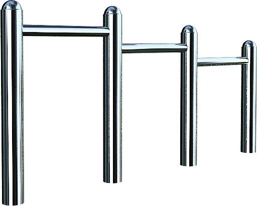 Venkovní hrazda Steel 05 procvičování dolních končetín