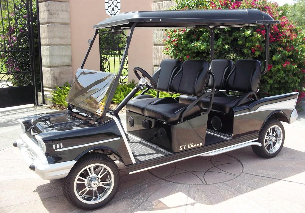 Hotelové elektrické vozítko MDG57 Golf Electric Cart MDG57