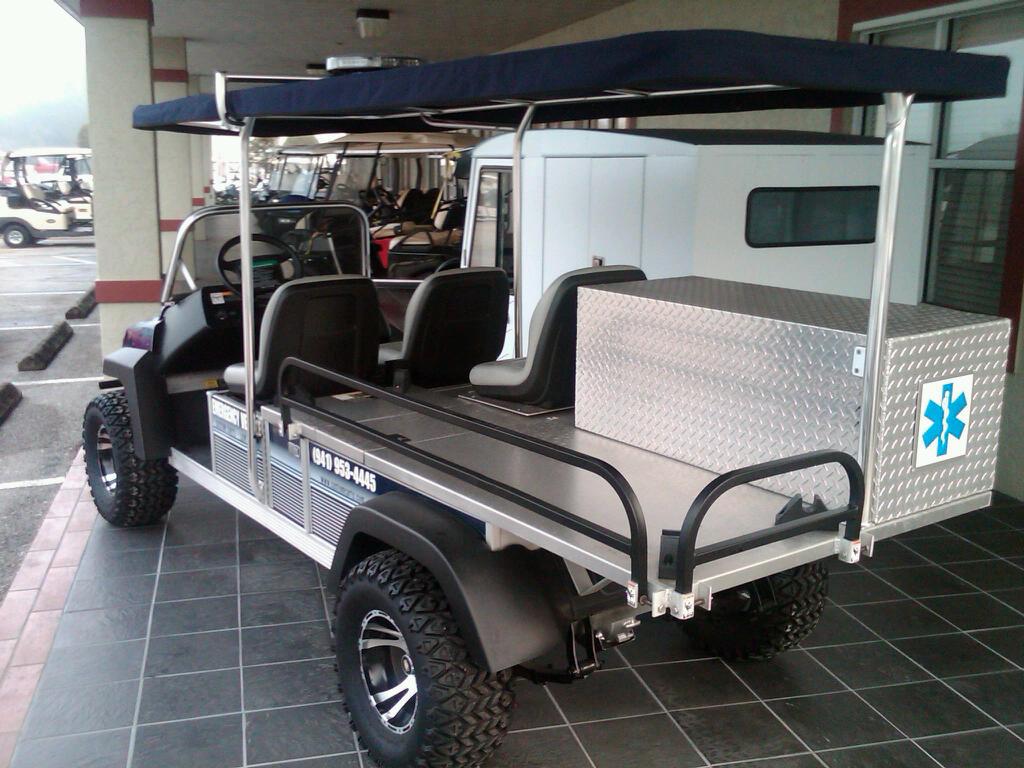 Elektrické vozítko MDGM3AMB Hospital Electric Cart MDGM3AMB