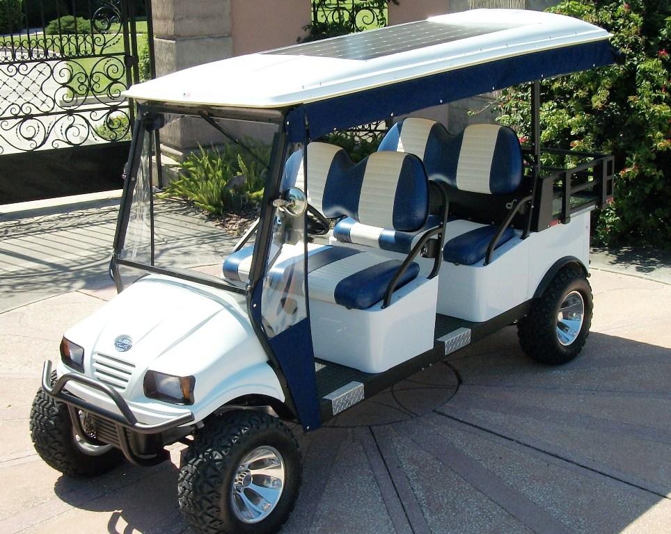Hotelové elektrické vozítko WHITE Hotel Electric Cart WHITE