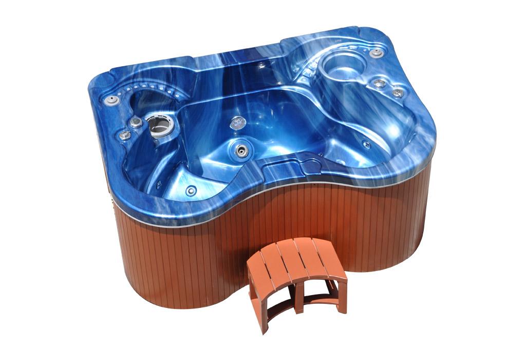 Hydromasážní bazén pro 2 osoby Vířivka pro 2 osoby