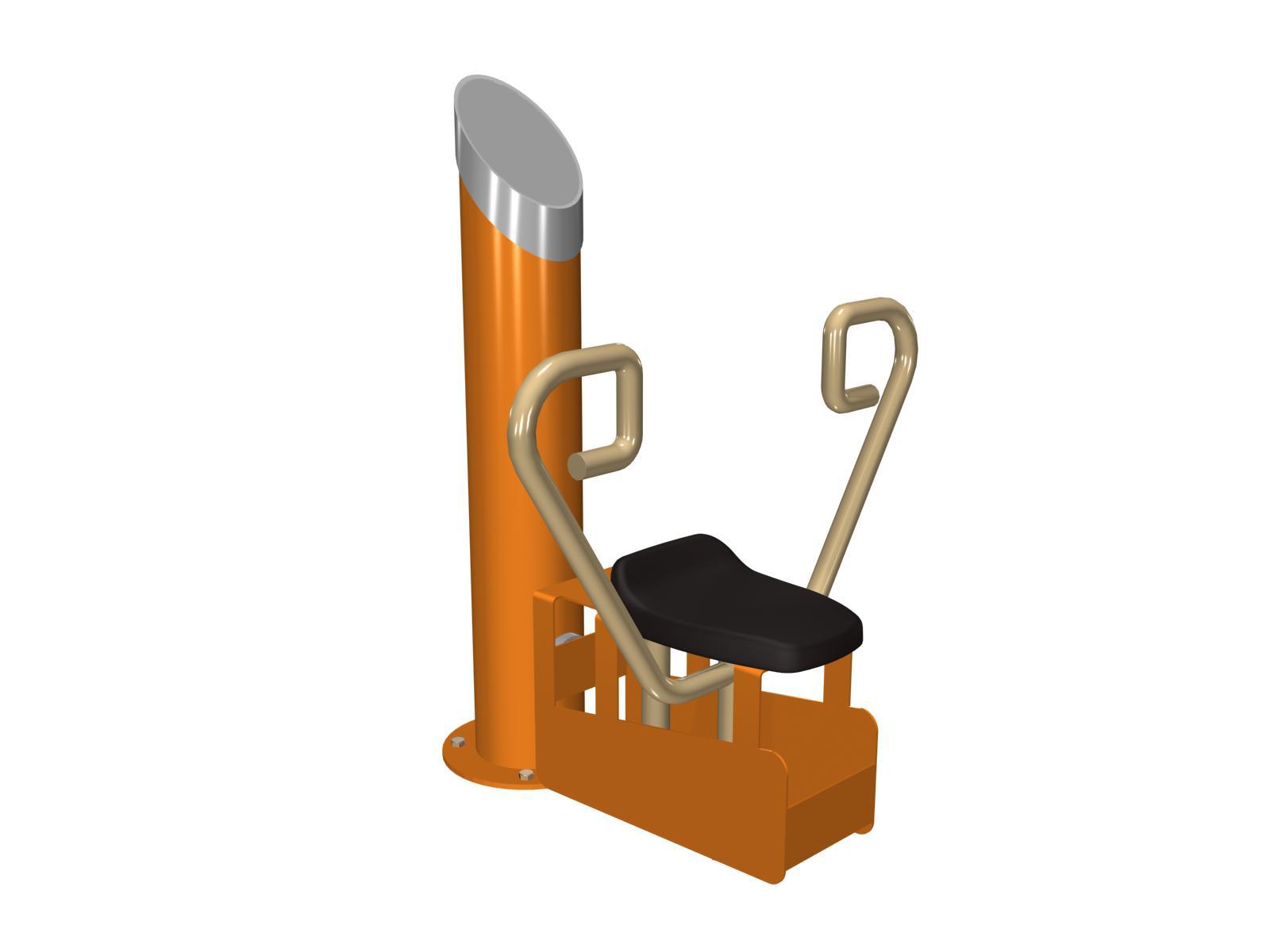 Bench press v sedě SP 583 Tlaky v sede na stroji 583