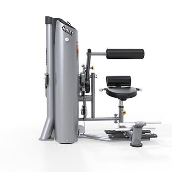 Zkracovačky a Hyperextenze na přístroji HD 3600 AB Crunch - Lower Back