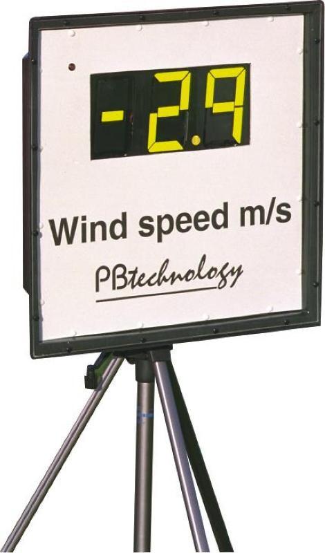 Měření rychlostí větru